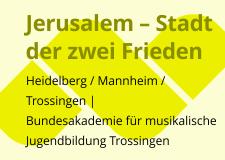 2015_1 Musik aktuell Jerusalem BAK Trossingen