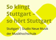 So klingt Stuttgart – so hört Stuttgart 2015_2
