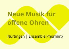 Neue Musik für offene Ohren – Kompositionsworkshop